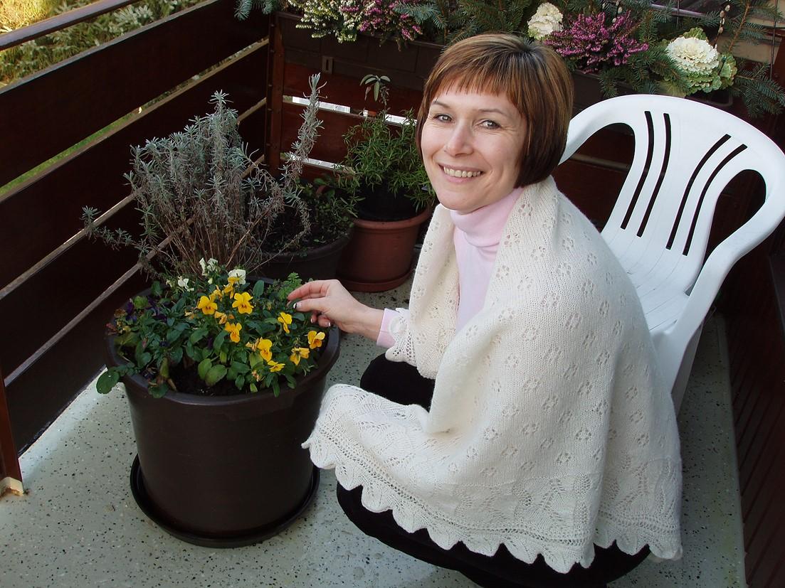 Frühling im Wald – ein Lotte-Tuch